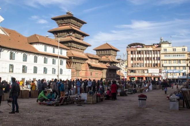 Kathmandu Jana Bahal Square