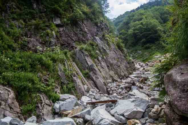 Okuhotakadake Trail Ladder