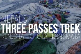 Nepal Three Passes Trek