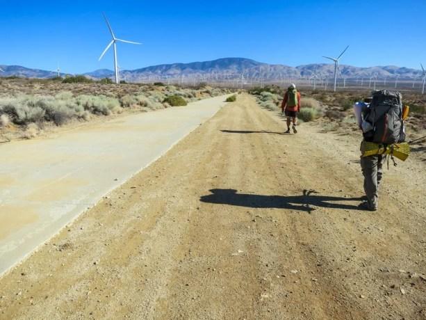 PCT California Desert Mojave