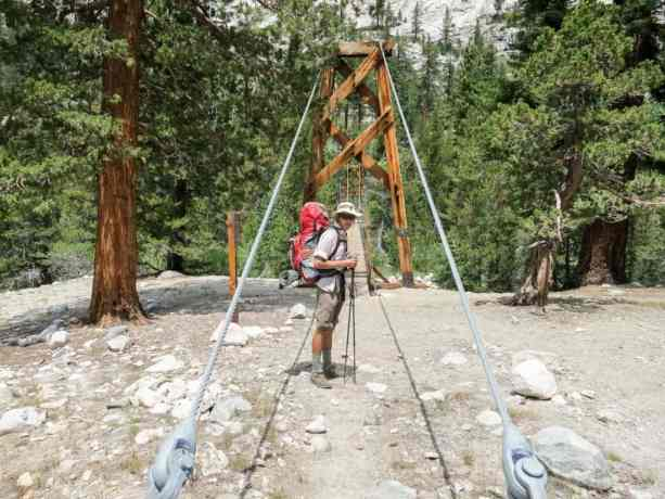 PCT Sierra Bridge