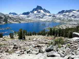 PCT Sierra Thousand Island Lake