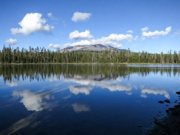 PCT Oregon Diamond View Lake