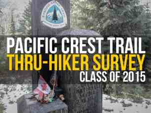 The Annual Pacific Crest Trail Thru-Hiker Survey (2015)