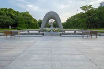 Japan-Hiroshima-Memorial-Park-Morning