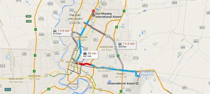 Thailand-Bangkok-Airport-Directions