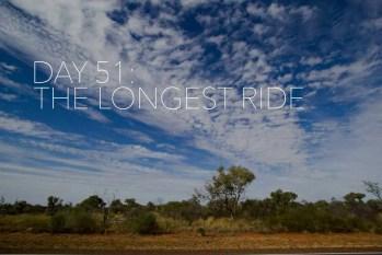 Australia Bike Tour Day 51: The Longest Ride