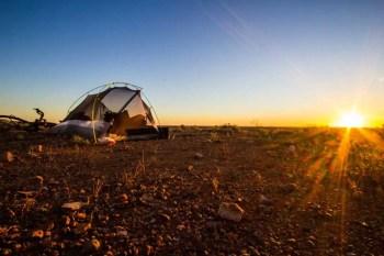 Australia-Outback-Tent-Sunset