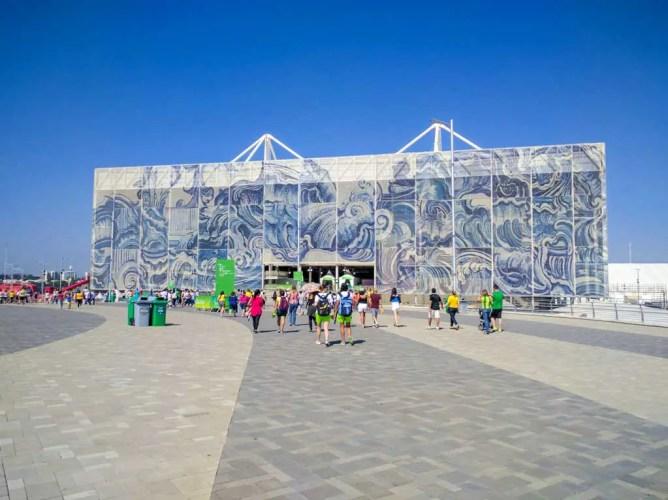 Brazil-Rio-2016-Olympics-Aquatic-Staduim-Building