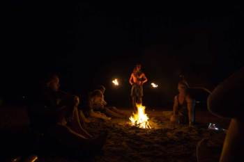 Australia-Darwin-Beach-Fire