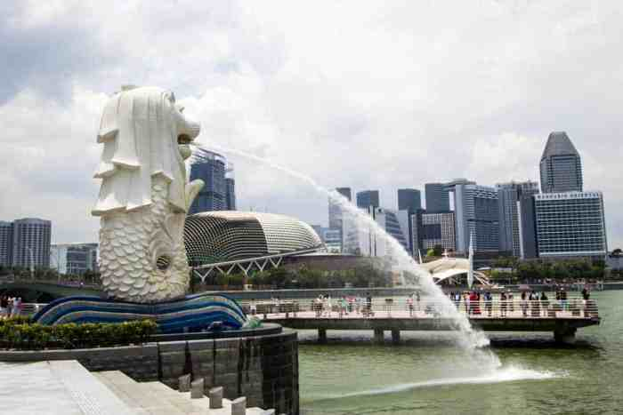 Singapore-Merlion-Day