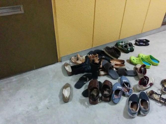Japan-Fukui-Shoes-Outside