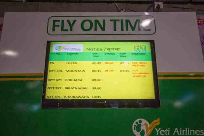 Nepal-Kathmandu-Airport-Yeti-Airlines-Board