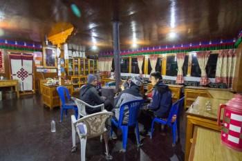 Nepal-Pangboche-Lodge-Inside