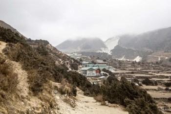 Nepal-Pangboche-Village-Clouds