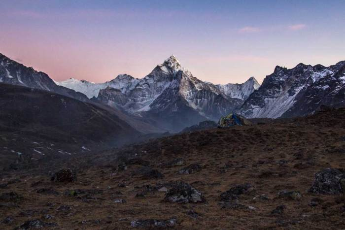 Nepal-Dzongla-Sunset