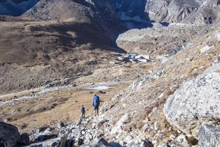 Nepal-Kongma-La-Lobuche-View