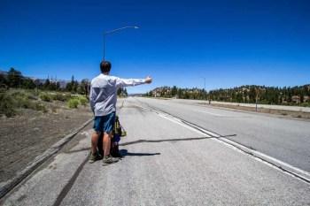 PCT-Sierra-Hitchhiking