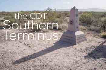 Getting To The CDT Southern Terminus