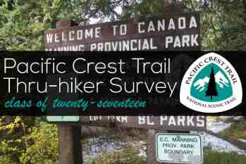 The Annual Pacific Crest Trail Thru-Hiker Survey (2017)