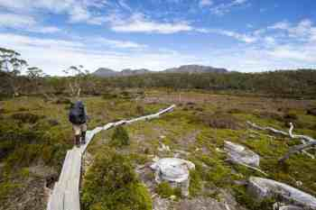 Tasmania-Overland-Track-Clear-Weather
