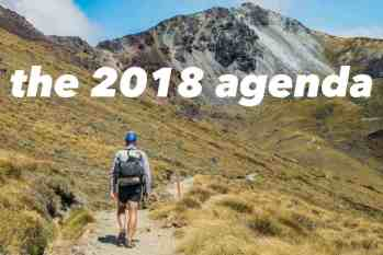 2018: What's On The Agenda