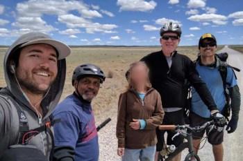 CDT-New-Mexico-Desert-Biker-Friend