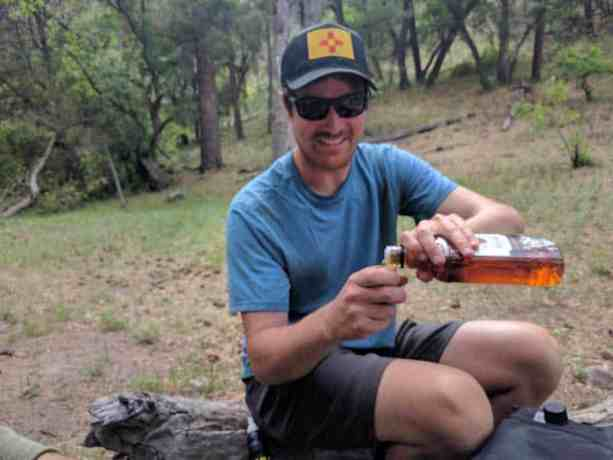 CDT New Mexico Gila, Moist Drinking Whiskey