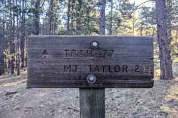 CDT-New-Mexico-Mount-Taylor-Sign