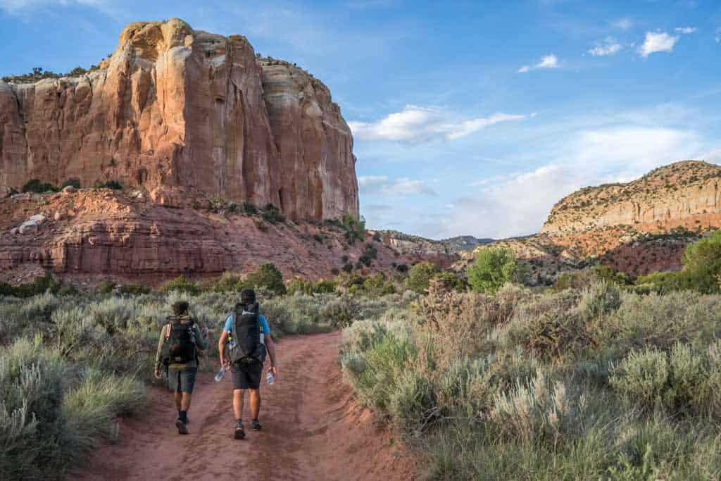 CDT-New-Mexico-Ghost-Ranch-Exit-Trail