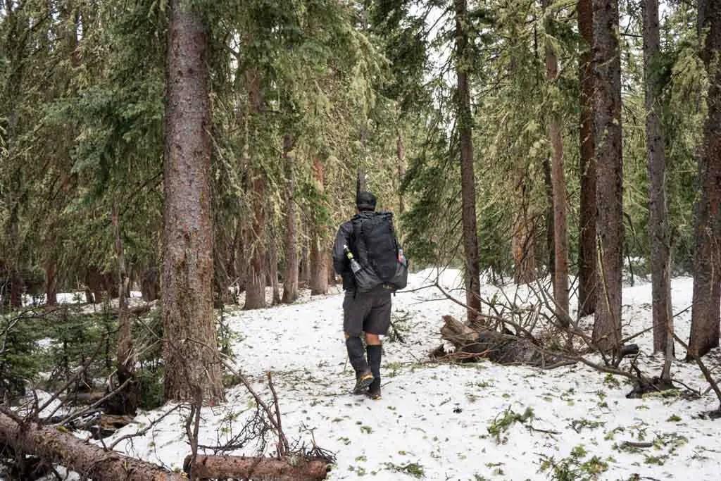 CDT-New-Mexico-Moist-Snow-No-Trail
