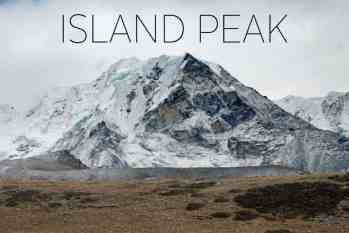 Island Peak (Imja Tse) Gear List