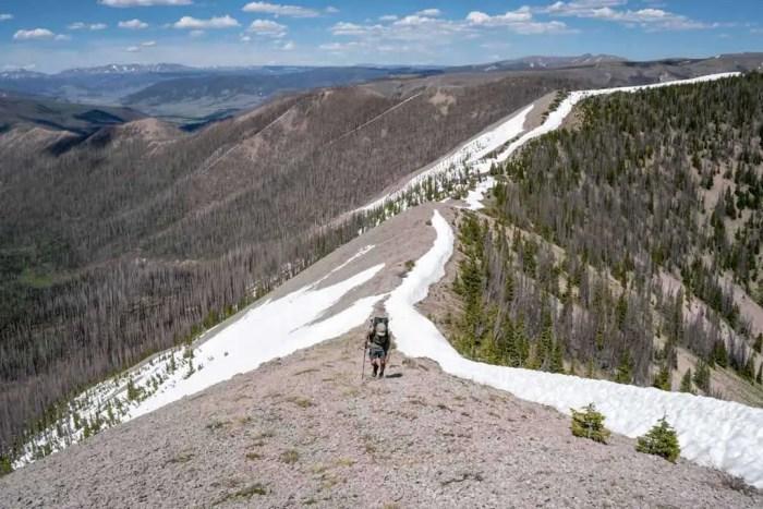 CDT-Colorado-Appa-Ridge-Walking