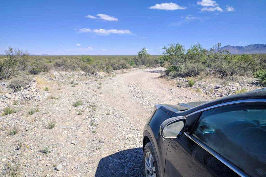 CDT-New-Mexico-Bootheel-Gallery-Road-Car
