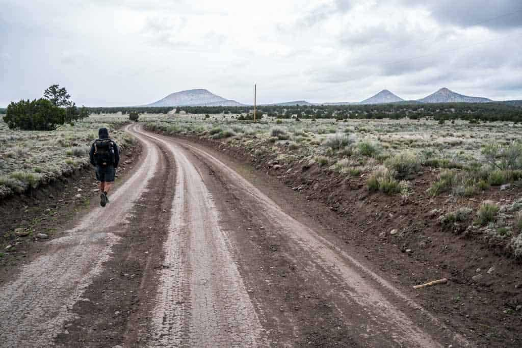 CDT-New-Mexico-Gallery-Appa-Dirt-Road-Clouds