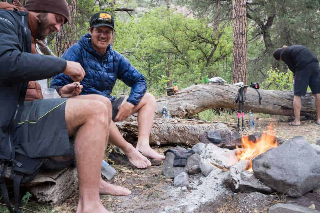 CDT-New-Mexico-Gila-Campsite-Fire