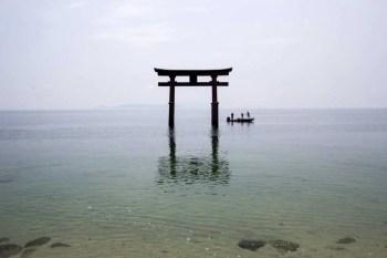 Japan-Shiga-Lake-Biwa-Shirahige-jinja-Shrine