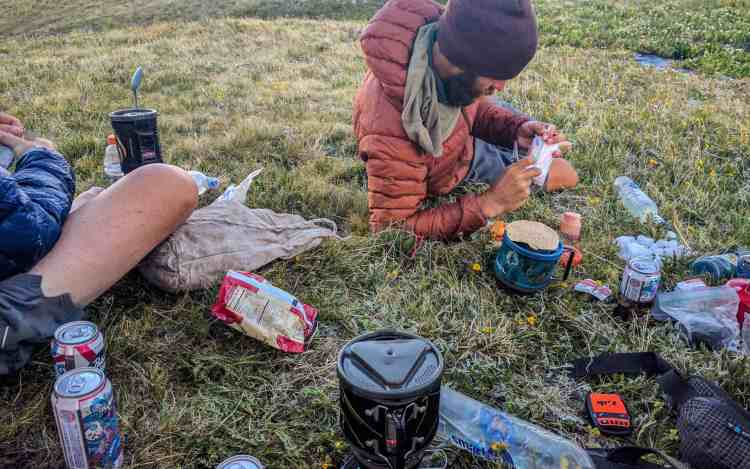 CDT Colorado Stony Pass Campsite
