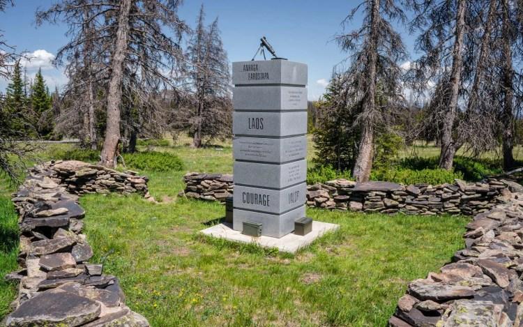 CDT Colorado Sargents Mesa War Memorial