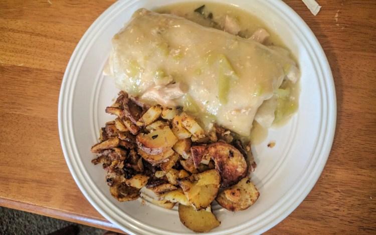 CDT Silverton, Colorado breakfast burrito