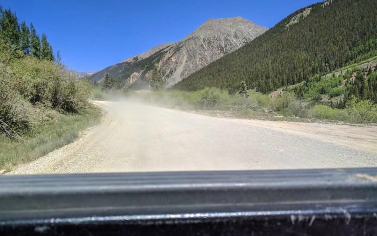 CDT Colorado Silverton Hitchhiking