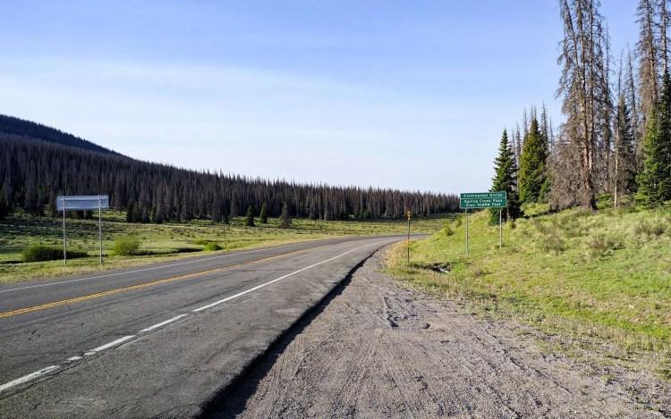 CDT Spring Creek Pass