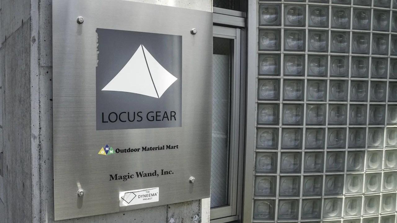Japan LOCUS GEAR HQ Logo Sign