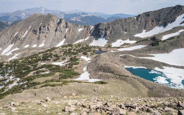 CDT Colorado Monarch Mountain Landscape