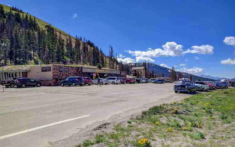 CDT Colorado Monarch Pass Parking Lot