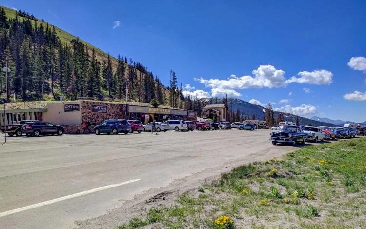 CDT Colorado Monarch Pass Parking Lot