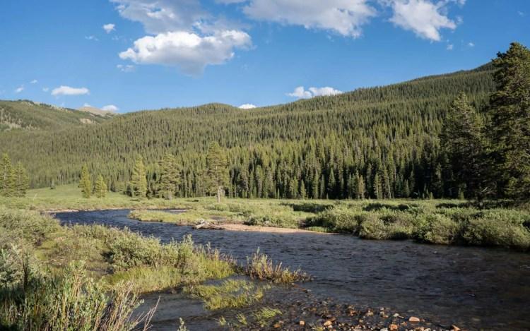 CDT Colorado Trail Rver