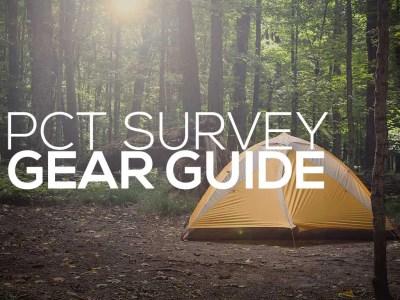 PCT Survey Gear