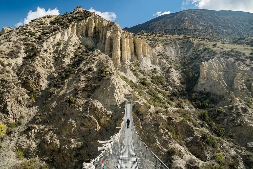 Annapurna Circuit Bridge