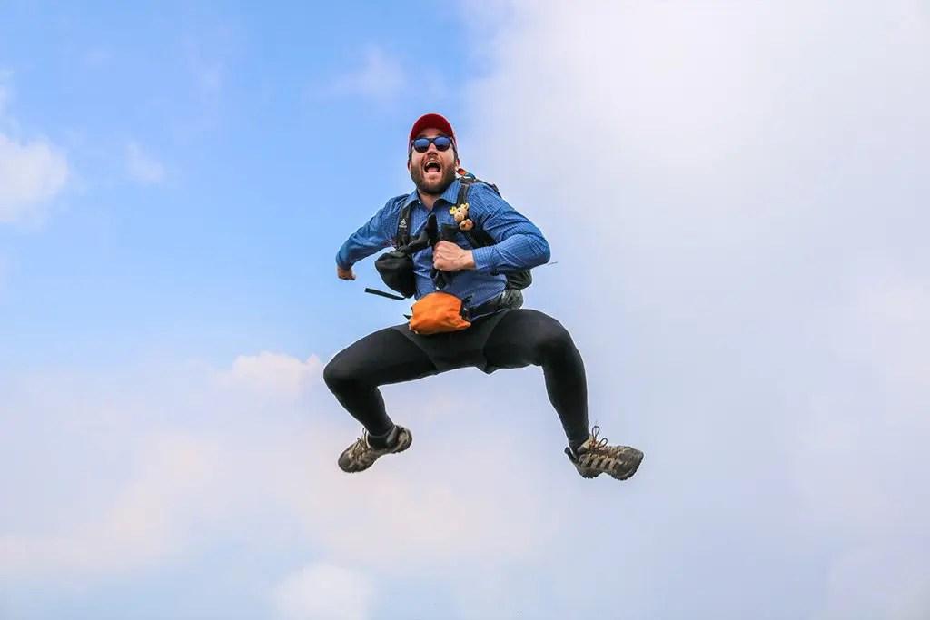 Mac Jumping - Mardi Himal Trek